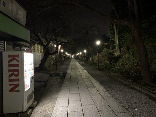 法華経寺参道